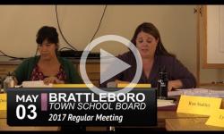 Brattleboro Town School Bd Mtg 5/3/17