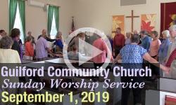 Guilford Church Service - 9/1/19