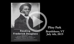 Brattleboro Rallies: A Community Reading of FrederickDouglass' Speech