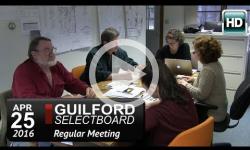 Guilford Selectboard Mtg 4/25/16