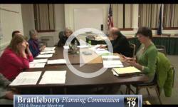 Brattleboro Planning Commission Mtg 11/19/14