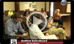 Guilford Selectboard Meeting 7/28/14