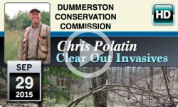 DCC: Chris Polatin- Clear Out Invasives 9/29/15