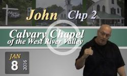 Calvary Chapel: John, Chp 2