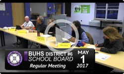 BUHS School Board Mtg 5/2/17
