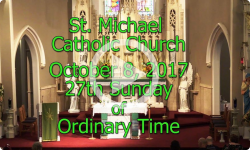 Mass from Sunday, October 8, 2017