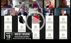 West River Education District: WRED Bd Mtg - 5/18/20