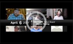Vernon Selectboard: Vernon SB Mtg 4/6/21