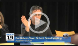 Brattleboro Town School Bd. Mtg. 3/19/14