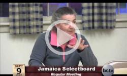 Jamaica Selectboard Mtg. 9/9/13