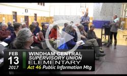 WCSU Elementary Act 46 Public Info Mtg 2/13/17