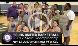 Unified Basketball St Championship - BUHS vs CVU 5/11/17