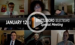 Brattleboro Selectboard: Brattleboro SB Special Mtg 1/12/21