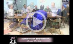 Dummerton Selectboard Mtg 1/21/15