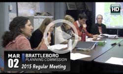 Brattleboro Planning Commission Mtg 3/2/15
