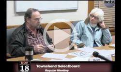 Townshend Selectboard Mtg. 11/18/13