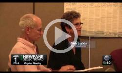 Newfane Selectboard Mtg 8/1/16