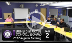 BUHS School Board Mtg 1/2/17