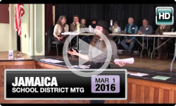 2016 Jamaica Town Meeting 3/2/16