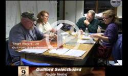 Guilford Selectboard Mtg. 12/9/13