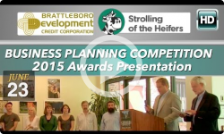 Strolling of the Heifers/BDCC Business Planning Competition 2015 Awards Show
