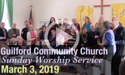 Guilford Church Service - 3/3/19