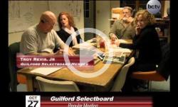 Guilford Selectboard Mtg 10/27/14