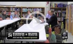 BUHS Vernon School Bd Joint Mtg 10/24/16