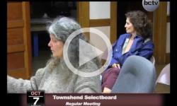 Townshend Selectboard Mtg. 10/7/13