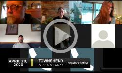 Townshend Selectboard: Townshend SB Mtg 4/28/20