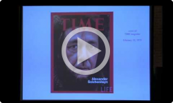 1st Wed: Alexander Solzhenitsyn - Writing The Red Wheel in VT