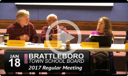 Brattleboro Town School Bd Mtg 1/18/17