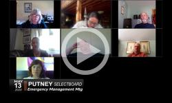 Putney Selectboard: Emergency Management Mtg 5/13/20