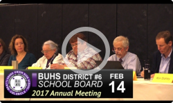 Brattleboro Union High School 2017 Annual Mtg 2/14/17