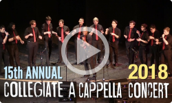 15th Annual A Cappella Concert 2/3/18