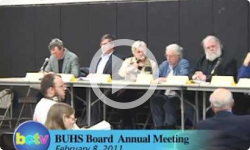 Brattleboro Union High School Annual Board Mtg. 2/8/11