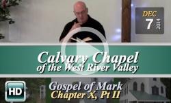 Calvary Chapel: Dec 7, 2014