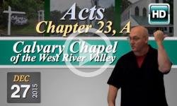 Calvary Chapel: December 27, 2015