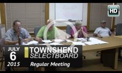 Townshend Selectboard: 7/6/15