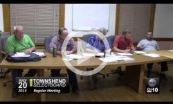 Townshend Selectboard Mtg. 7/20/15