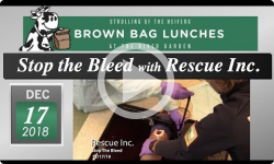River Garden Brown Bag Lunch Series: Rescue Inc. - Stop the Bleed