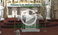 Mass from Sunday, June 13, 2021
