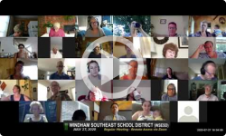 Windham Southeast School District: WSESD Bd Mtg 7/27/20