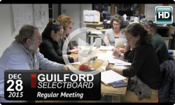 Guilford Selectboard Mtg 12/28/15