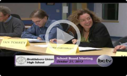 Brattleboro Union High School Bd. Mtg. 10/21/13