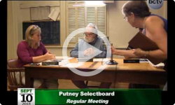Putney Selectboard Mtg 9/10/14