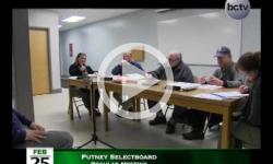 Putney Selectboard Mtg 2/25/15