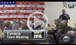 2015 Vernon Town Mtg Pt 1 3/2/2015