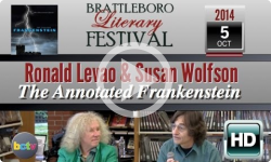 2014 Brattleboro Literary Festival: Ronald Levao, Susan Wolfson