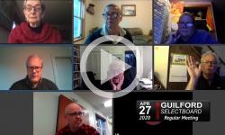 Guilford Selectboard: Guilford SB Mtg 4/27/20